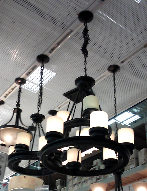 candle light fixture
